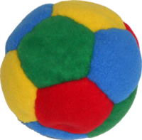 Image Tossaball Plush Puppy