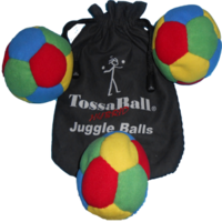 Image Plush Puppy Juggle Ball 3 Pack Super Saver